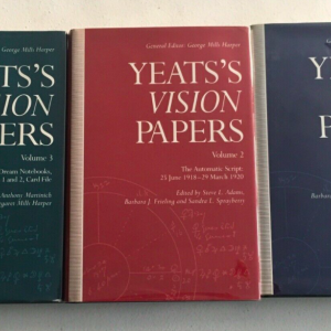 William Butler Yeats - the Vision Paper's 3 volume set